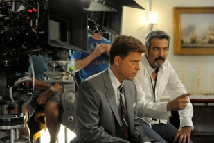 Jon Cassar directs Greg Kinnear - The Kennedys